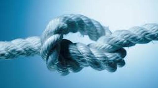 打結的繩子